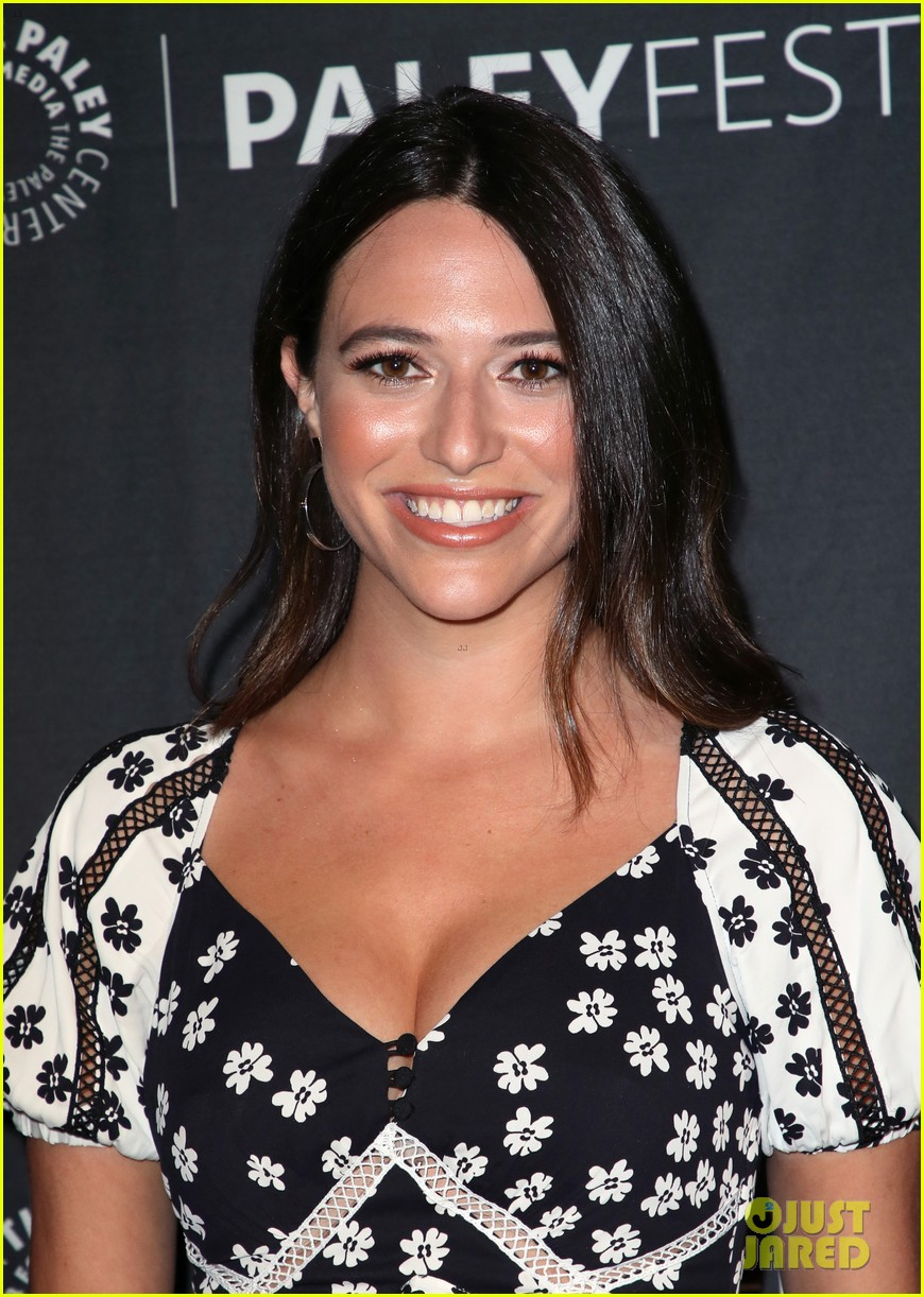 shay mitchell dollface cast at paley 32