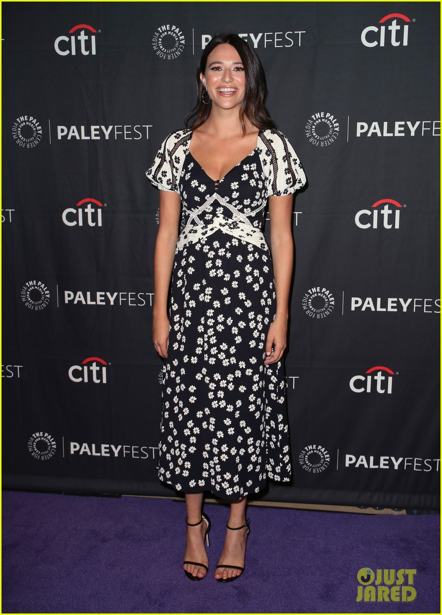shay mitchell dollface cast at paley 33