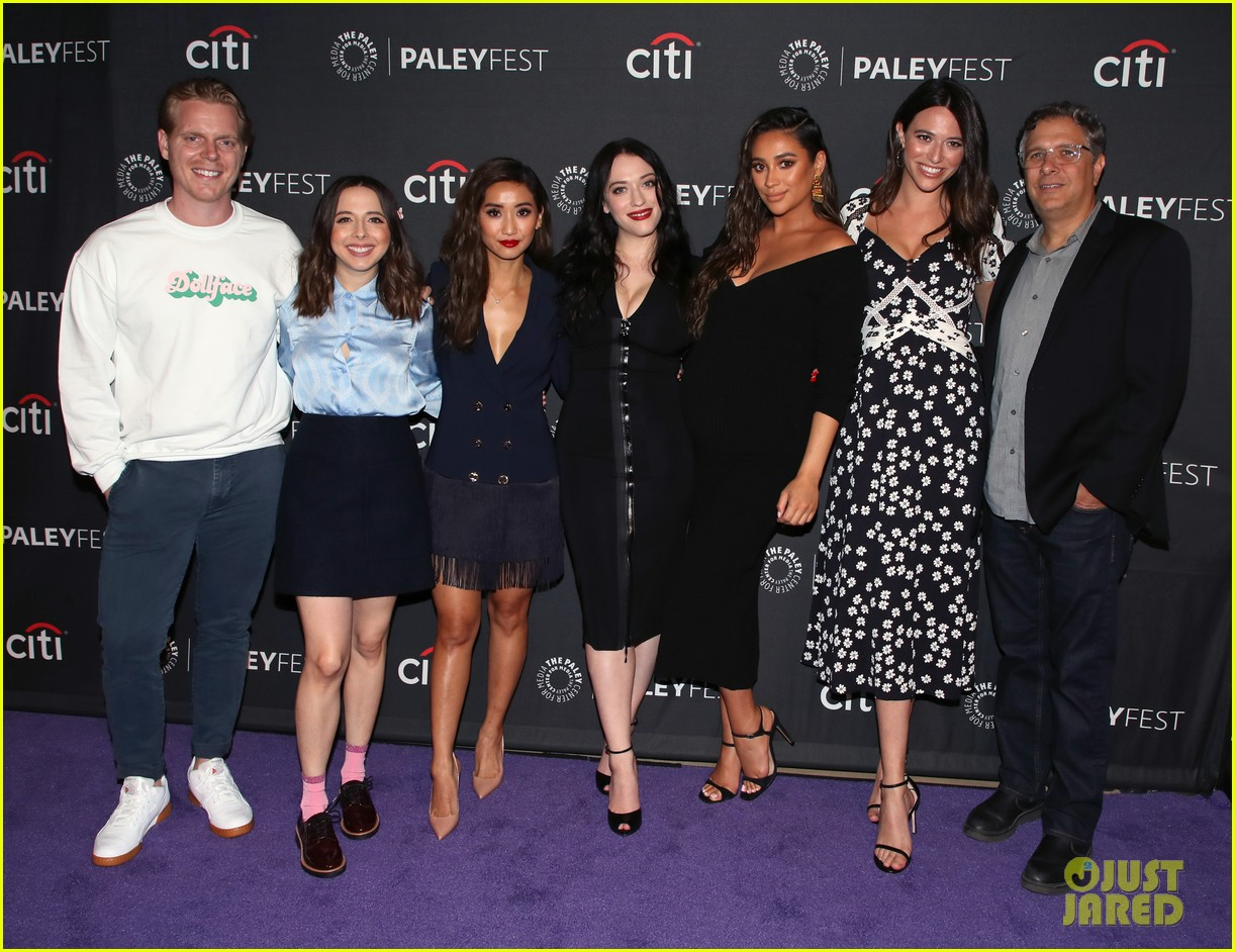 shay mitchell dollface cast at paley 36
