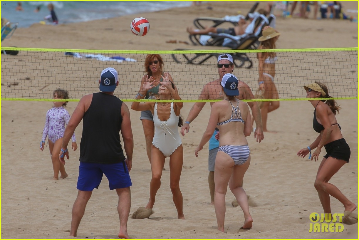 miles teller nina dobrev at the beach hawaii 26