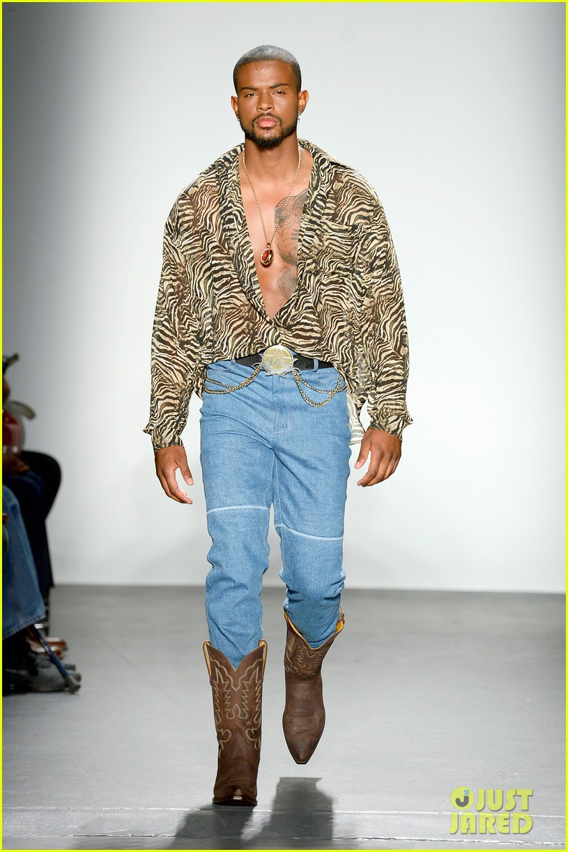 Hot from the catwalk Trevor-jackson-walked-in-his-first-fashion-show-during-nyfw-19-02