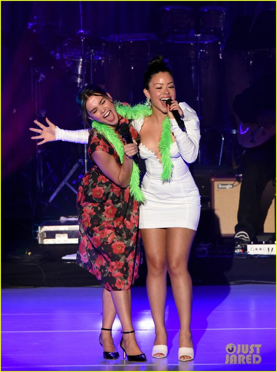 maia mitchell cierra ramirez good trouble cast celebrate la lgbt center 50th anniversary 12