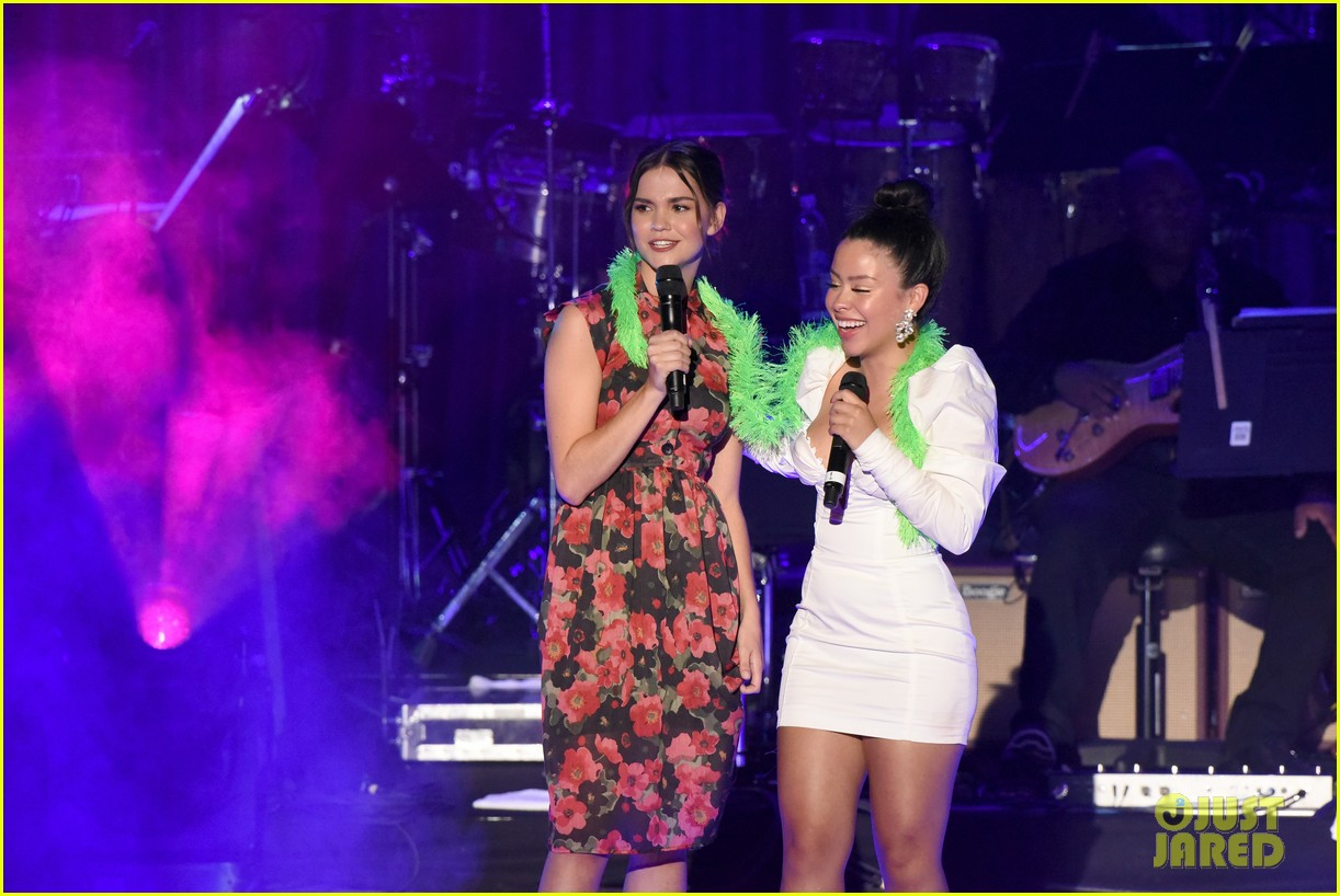 maia mitchell cierra ramirez good trouble cast celebrate la lgbt center 50th anniversary 14