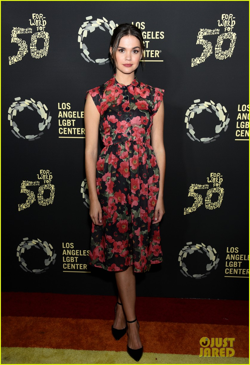 maia mitchell cierra ramirez good trouble cast celebrate la lgbt center 50th anniversary 16