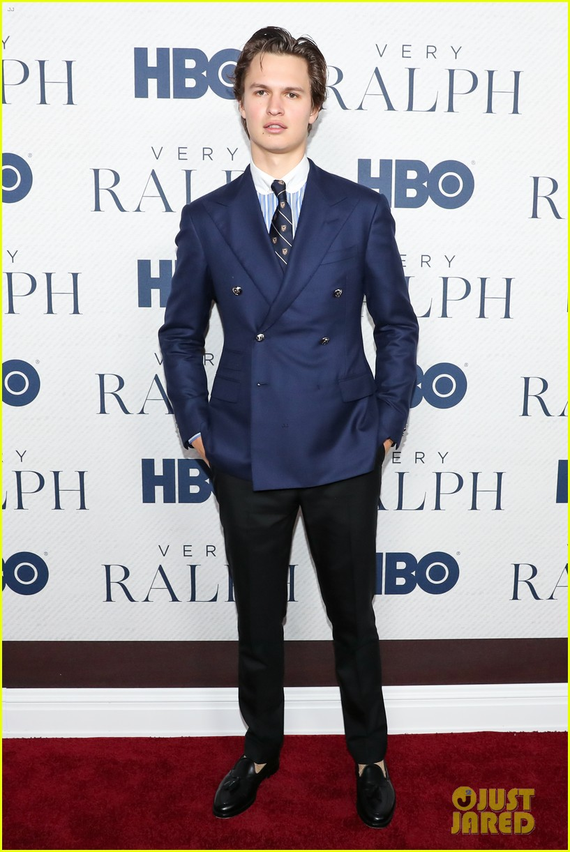 ansel elgort looks sharp at very ralph premiere 01