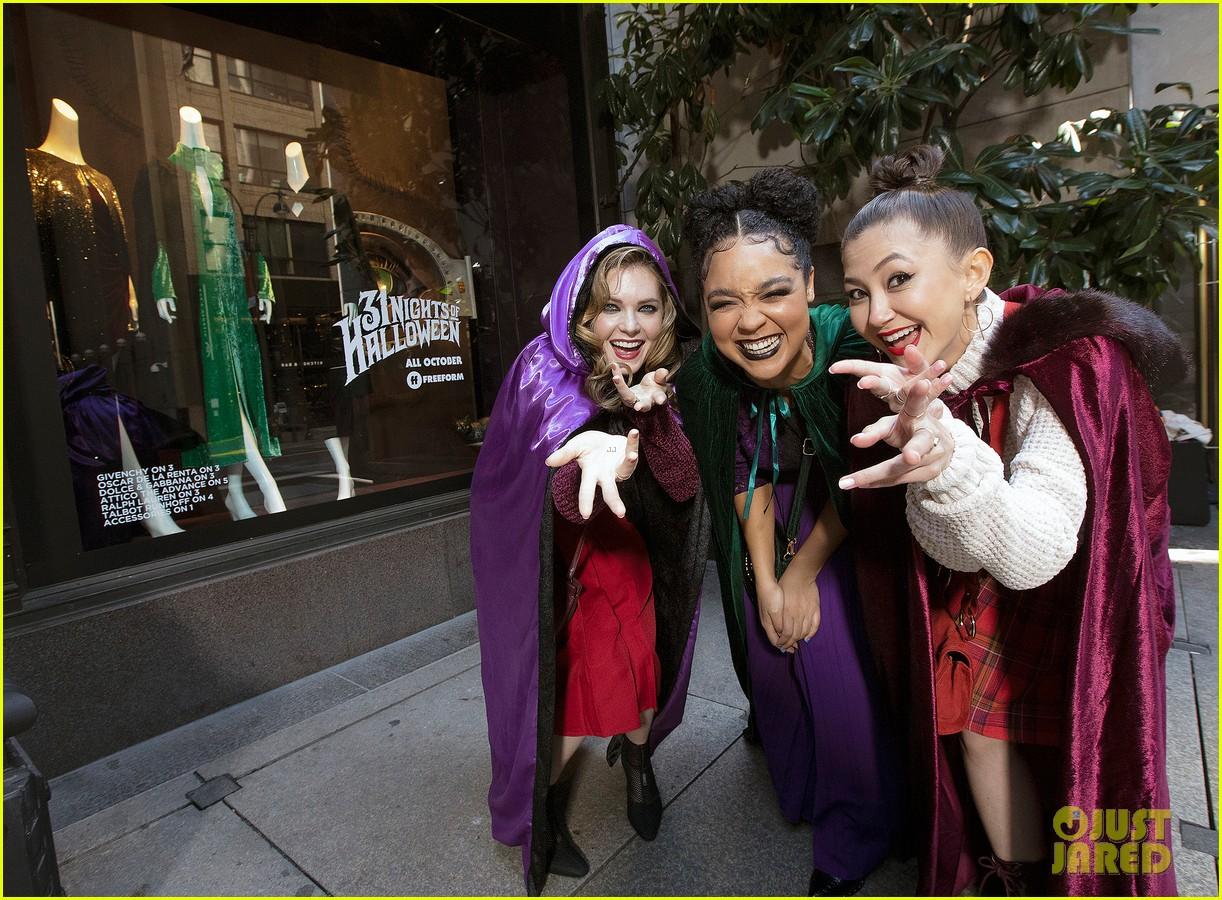 aisha dee meghann fahy kimiko glenn channel sanderson sisters 04