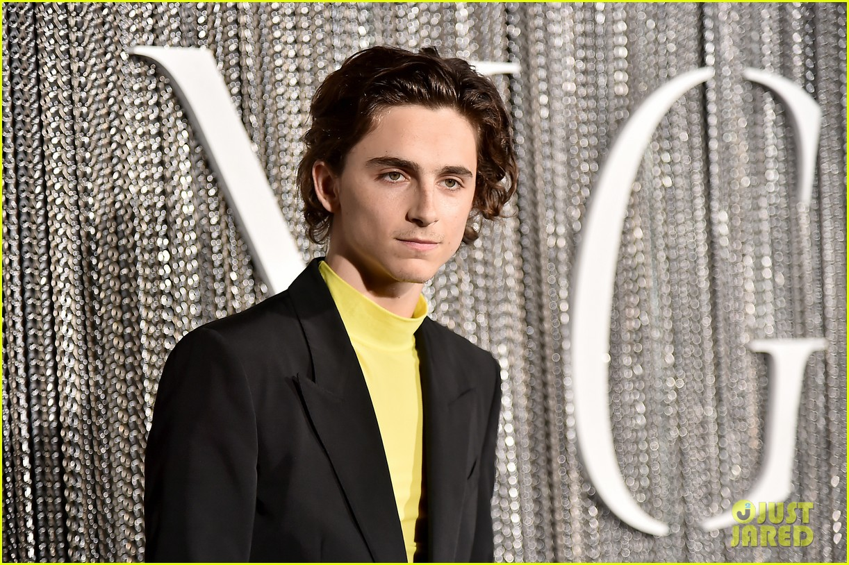 timothee chalamet lily rose depp the king premiere 08