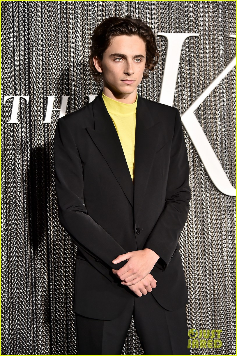 timothee chalamet lily rose depp the king premiere 09