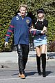 miley cyrus and cody simpson step out for museum and sushi date 02