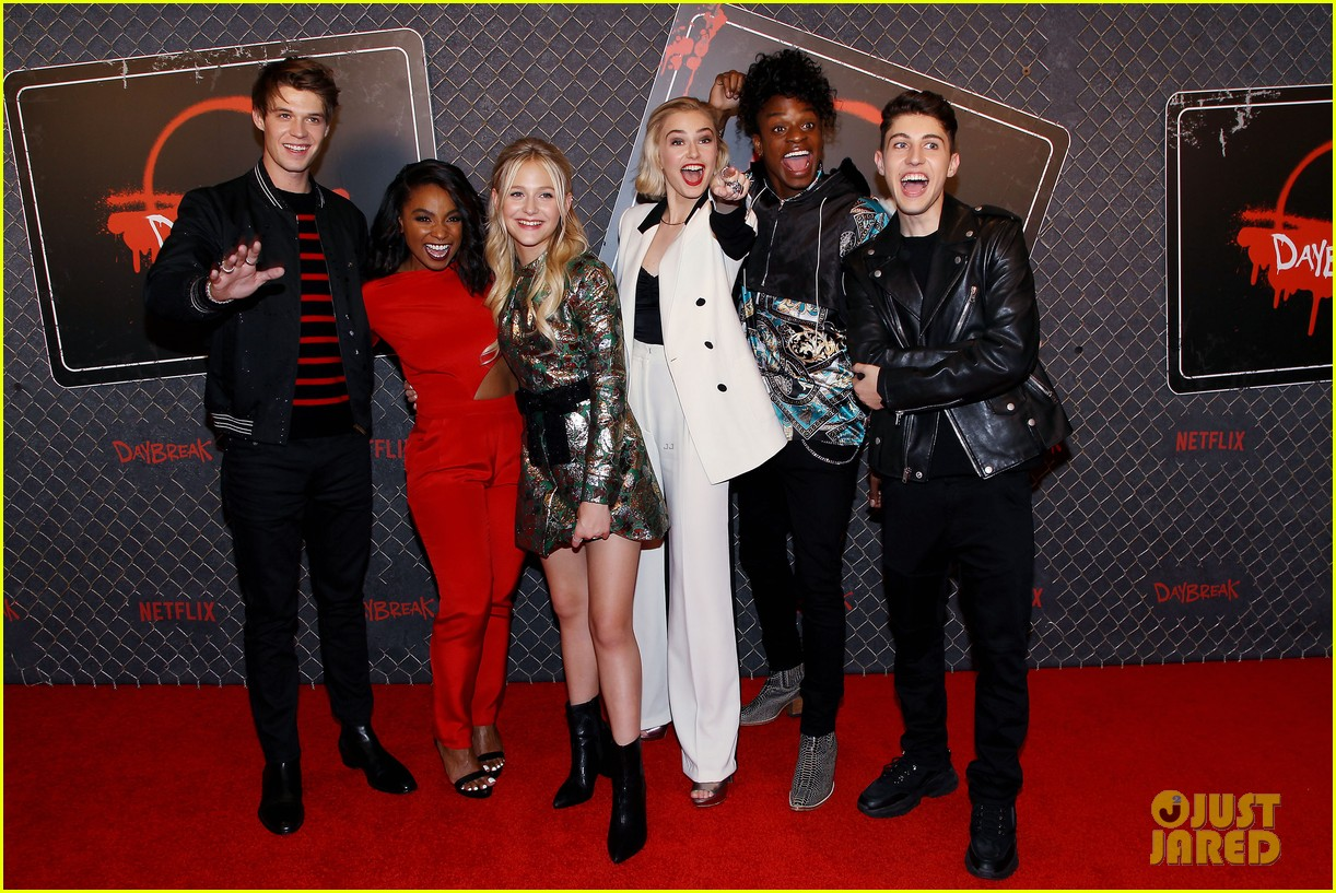 Colin Ford Sophie Simnett Premiere New Series Daybreak At New York Comic Con Photo 1264697 Alyvia Alyn Lind Austin Crute Colin Ford Gregory Kasyan Jeante Godlock Krysta Rodriguez Matthew Broderick Watch gregory kasyan movies and shows for free on zoechip. just jared jr