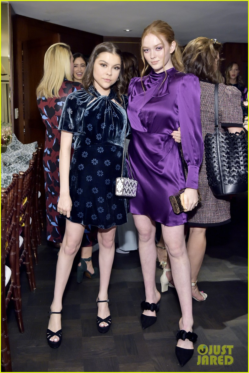 dove cameron laura marano josephine langford more ksny dinner 53