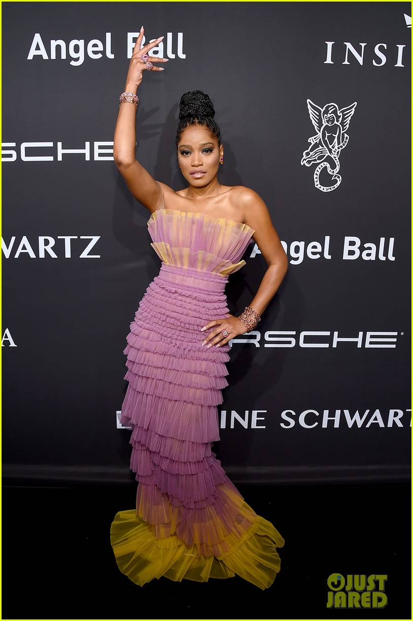 keke palmer looks amazing in two different looks at angel ball 01
