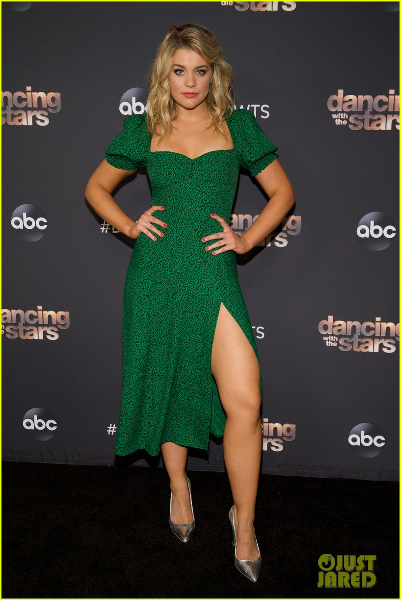 ally brooke reacts to receiving first perfect score on dwts 05