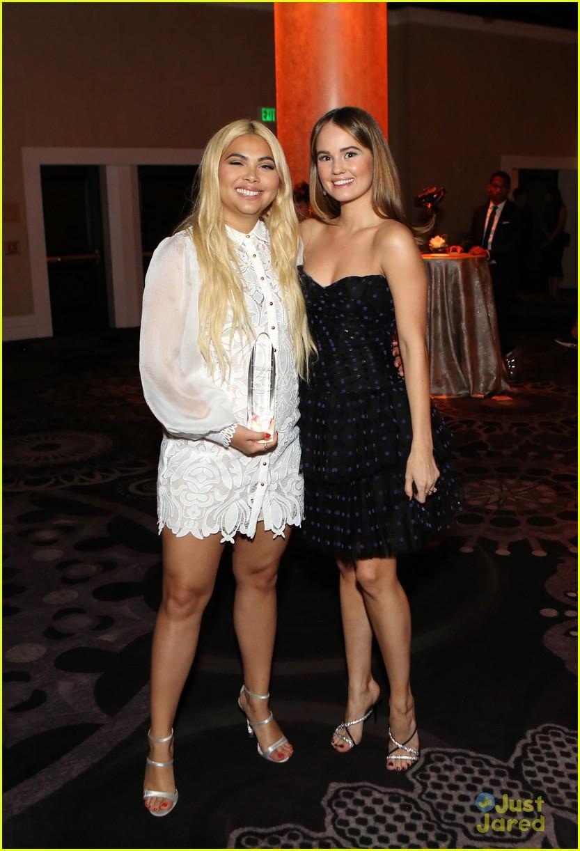 Debby Ryan Presents Hayley Kiyoko With Youth Innovator ...