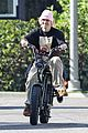 justin hailey bieber bike around the neighborhood 01