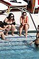 kaia gerber pete davidson kiss poolside in miami 040