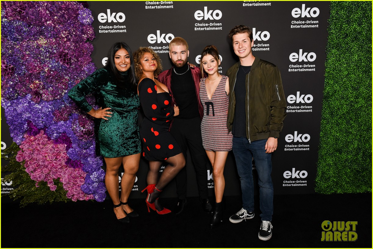 karan brar g hannelius rachel crow share new eko shows at premiere event 10