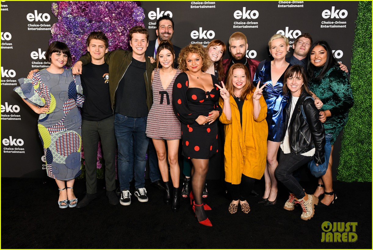 karan brar g hannelius rachel crow share new eko shows at premiere event 14