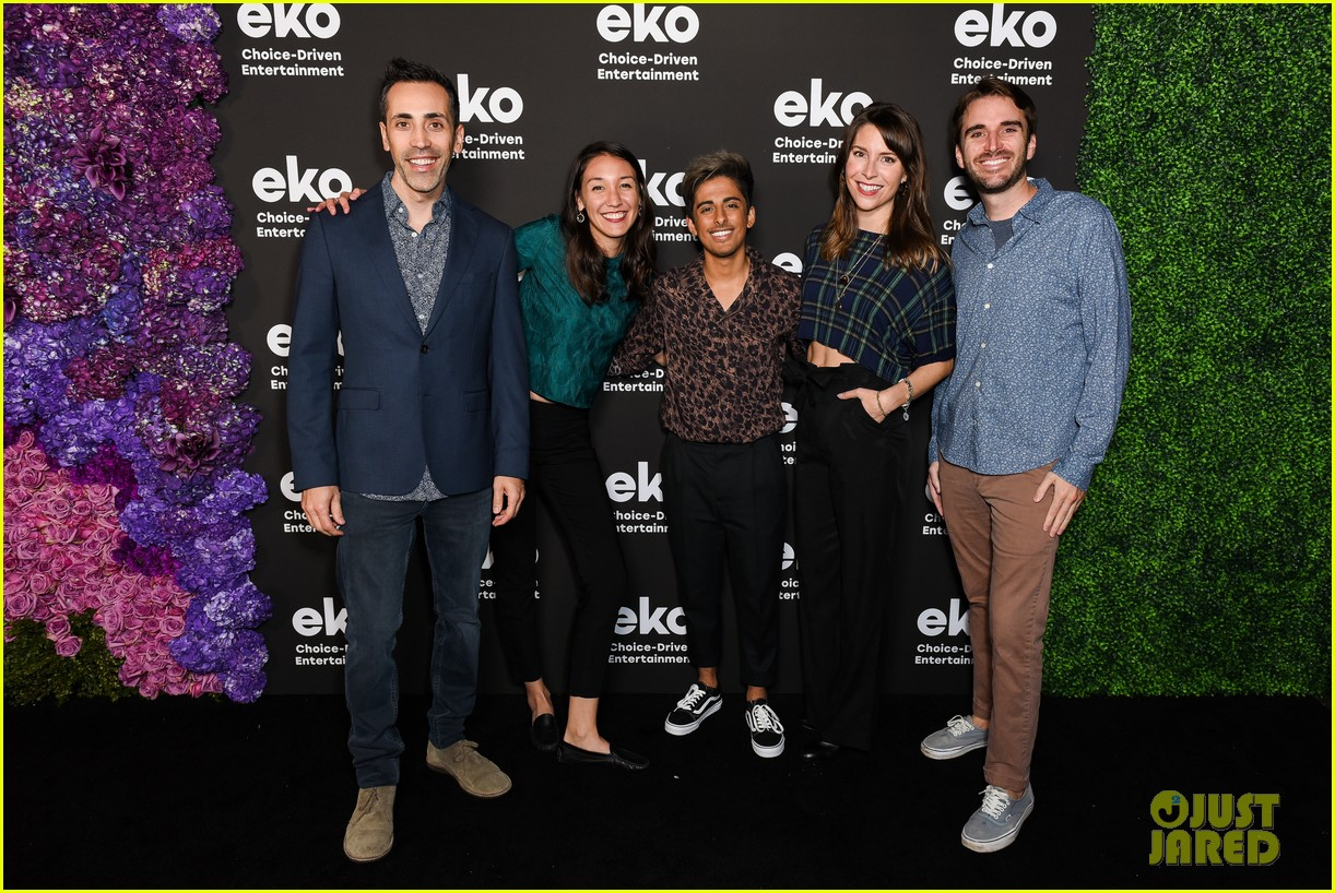 karan brar g hannelius rachel crow share new eko shows at premiere event 18