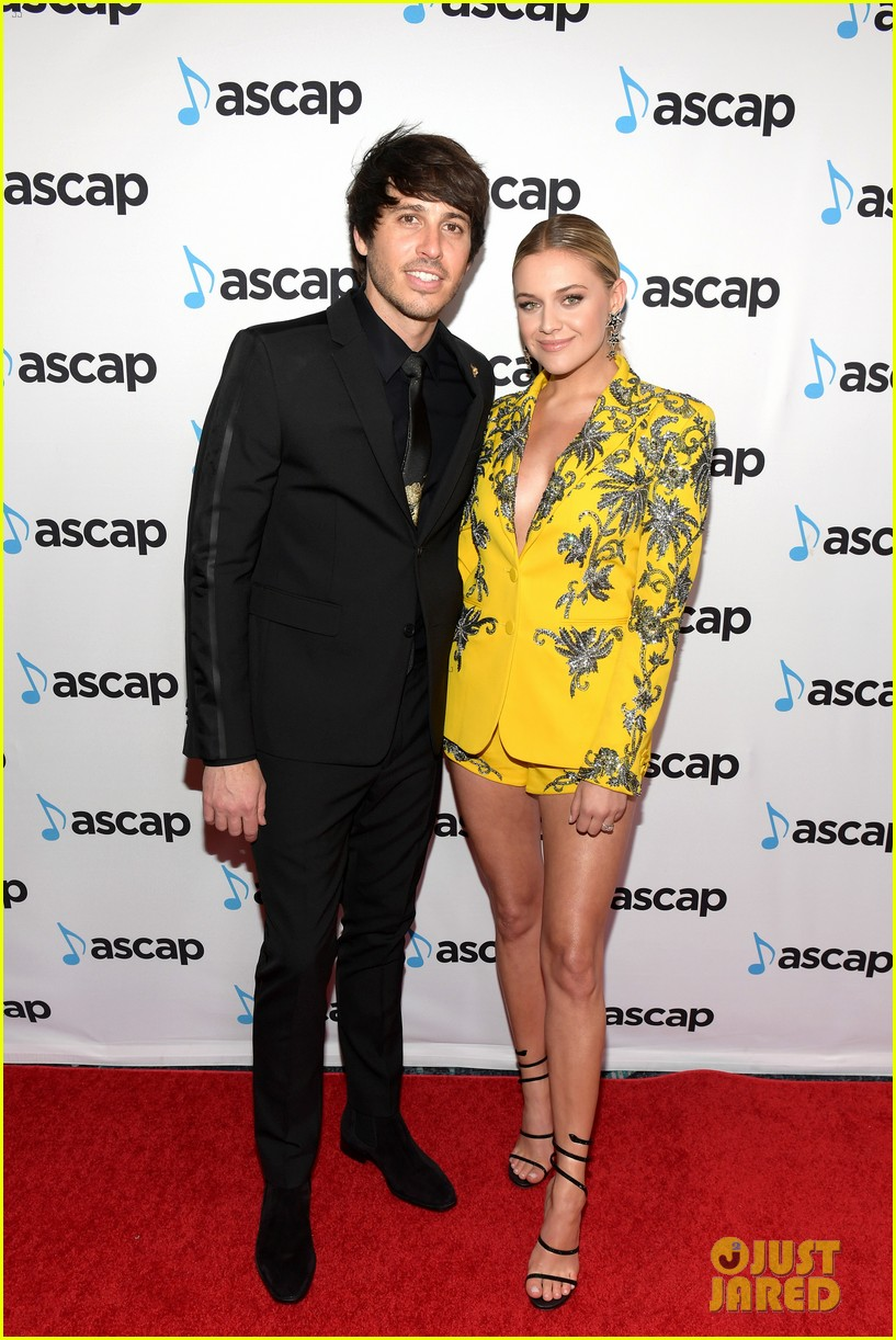kelsea ballerini morgan evans couple up at ascap country music awards 03