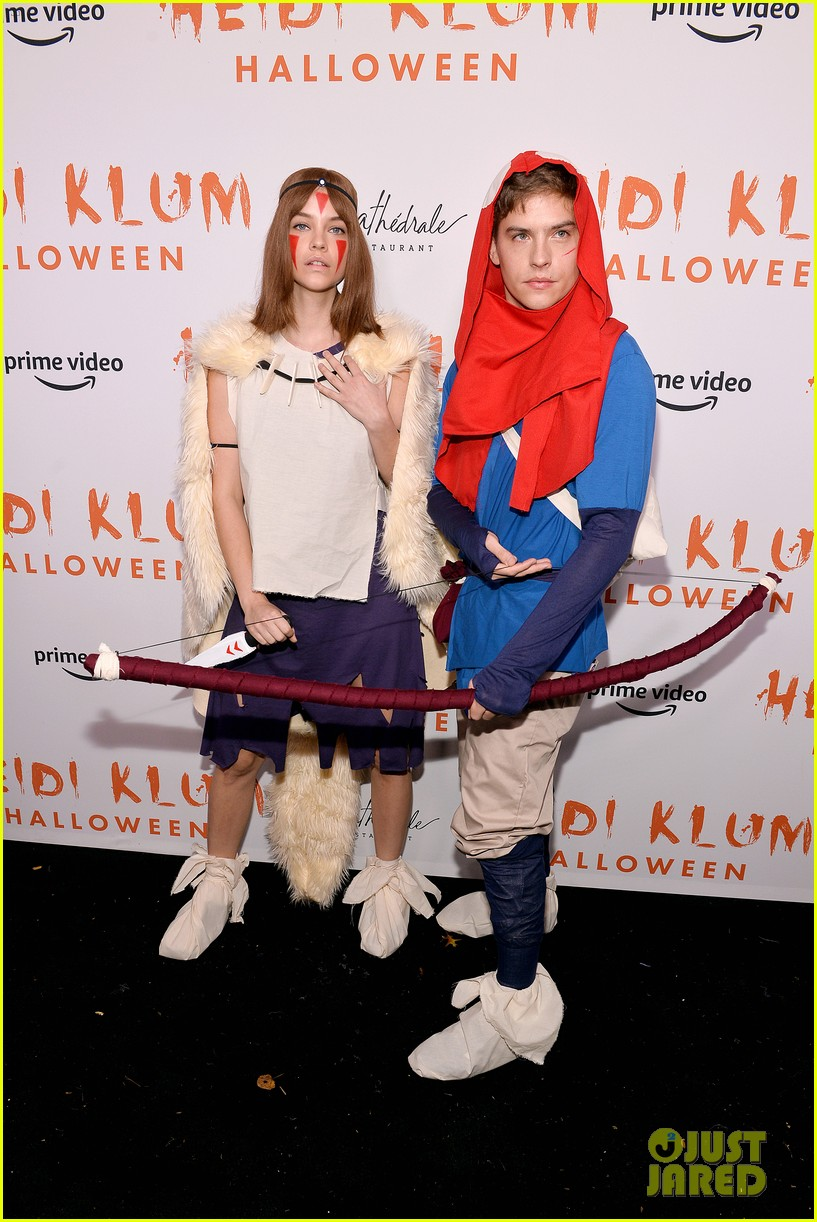 dylan sprouse barbara palvin halloween party 07