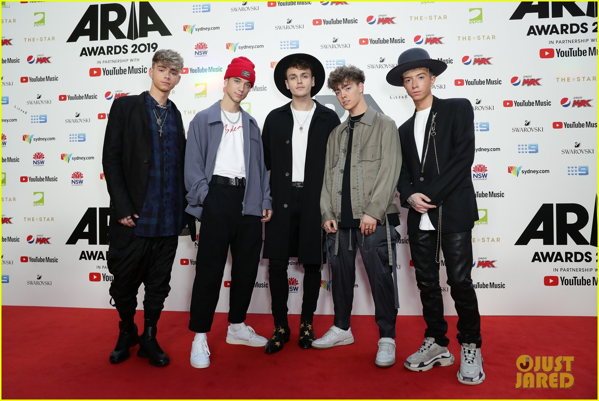 why dont we perform outside sydney opera house before aria awards 2019 03