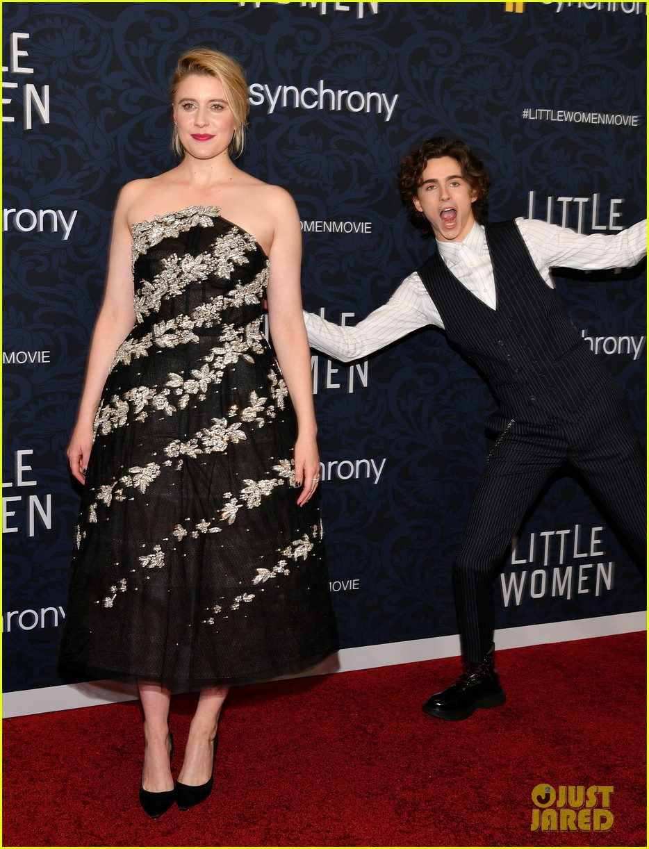 Little Women Stars Premiere Their Movie In Nyc Photo