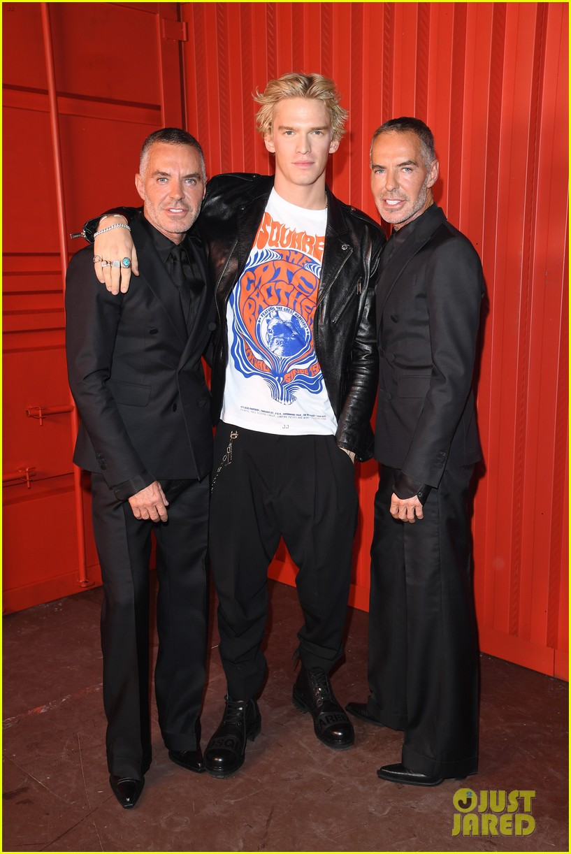 dylan sprouse barbara palvin more stars dsquared show 04