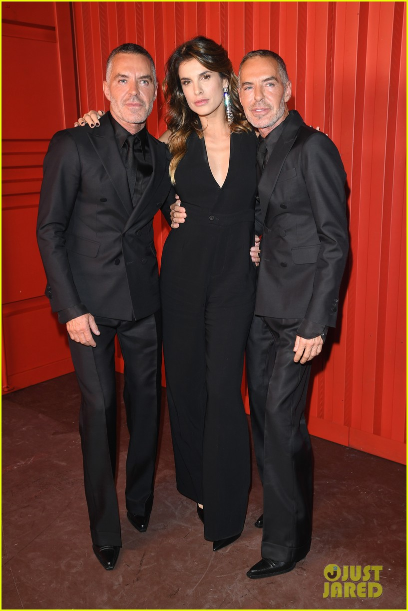 dylan sprouse barbara palvin more stars dsquared show 08
