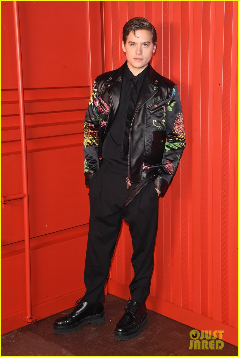 dylan sprouse barbara palvin more stars dsquared show 18
