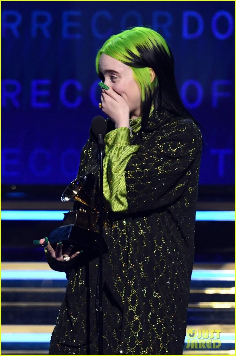 billie eilish album of the year says ariana grande deserves it 11