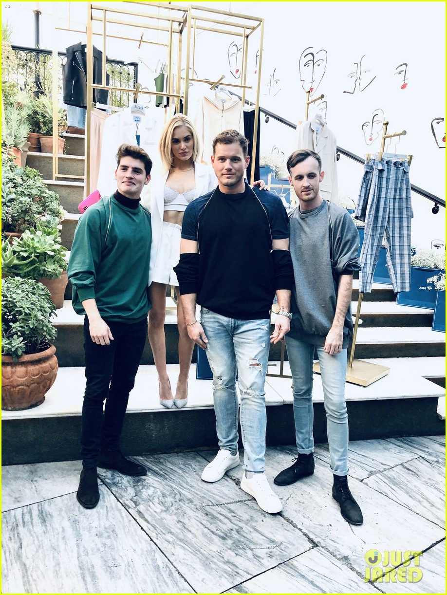 gregg sulkin michelle randolph fashion event cassie randolph colton underwood 05