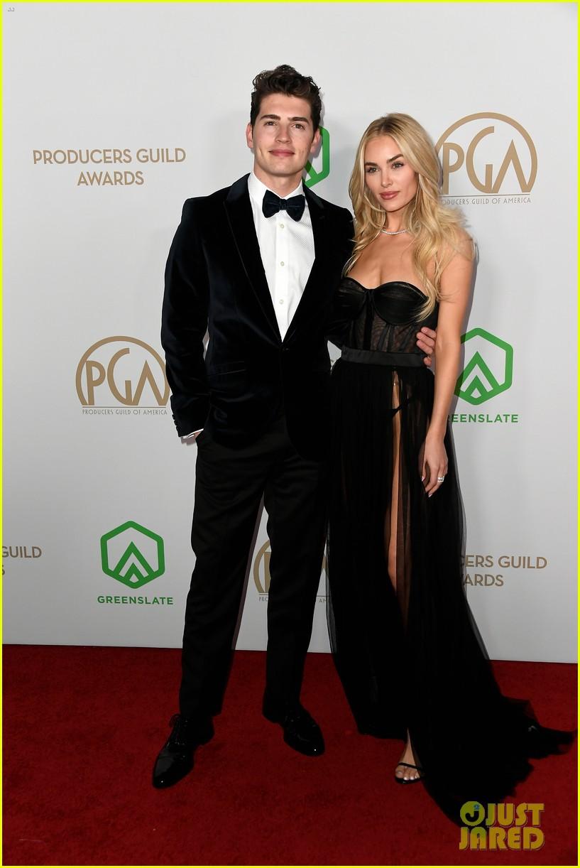 gregg sulkin michelle randolph couple at producers guild awards 08