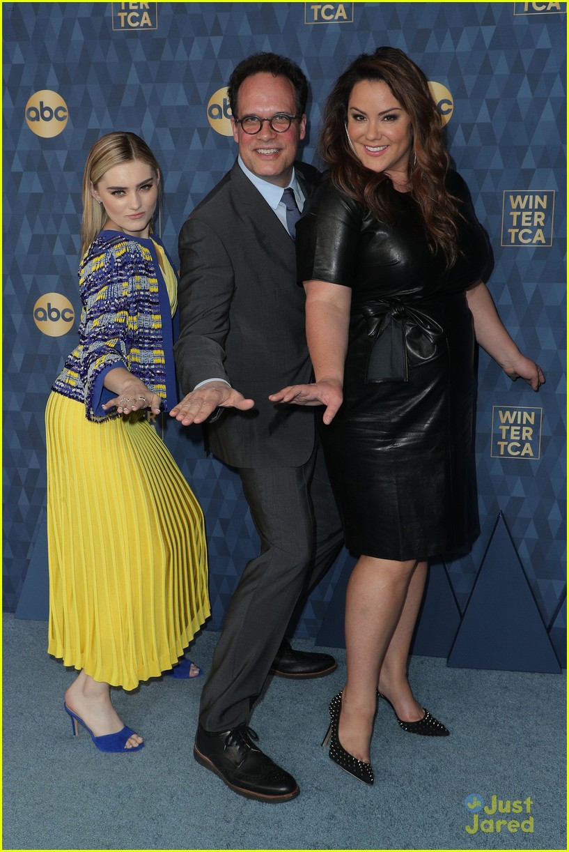 meg donnelly marsai martin aubrey emmons more abc tca party 46