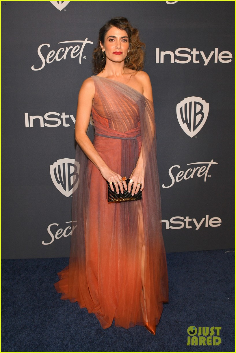 nina dobrev golden globes after party 19