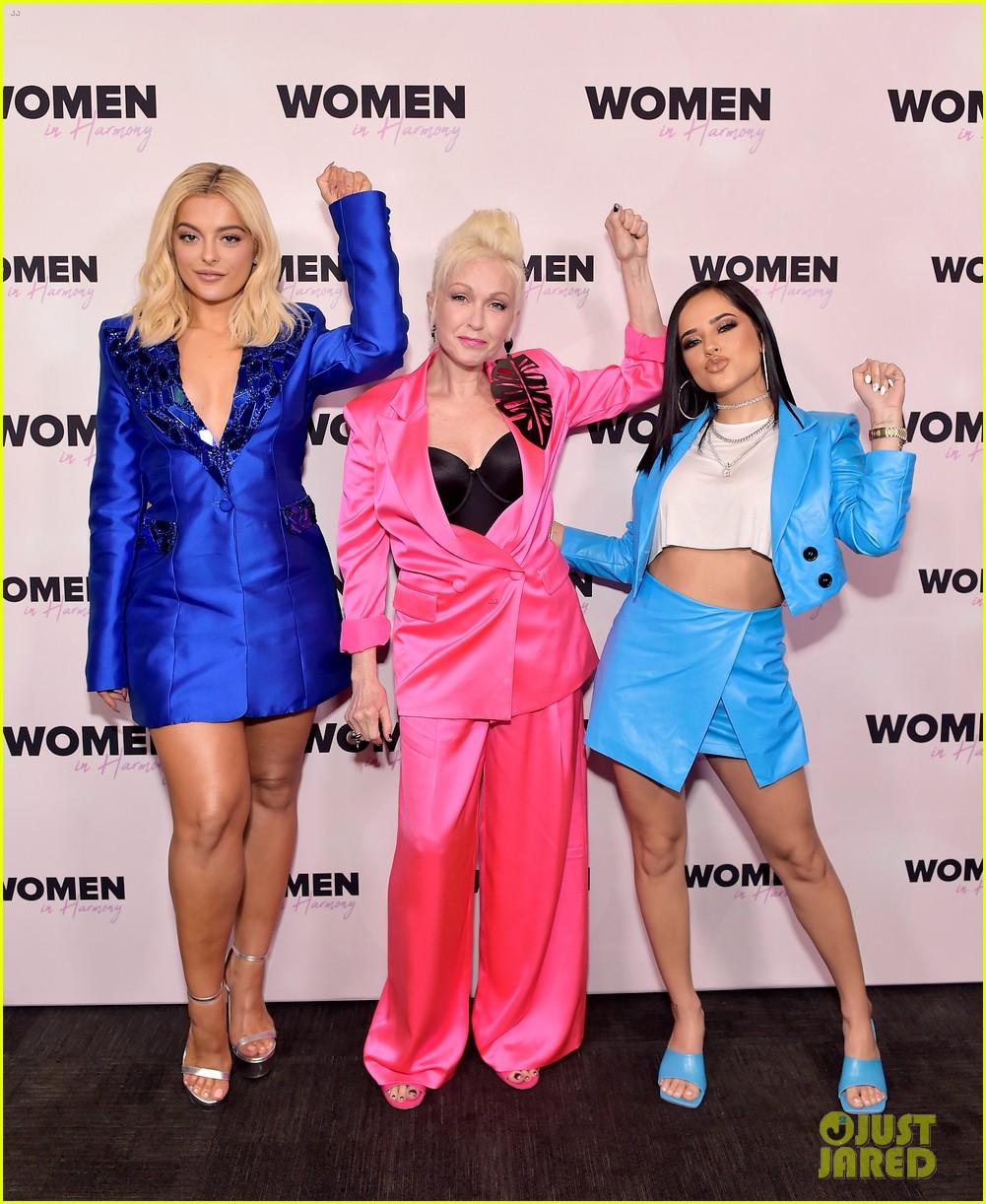 bebe rexha women in harmony event 03