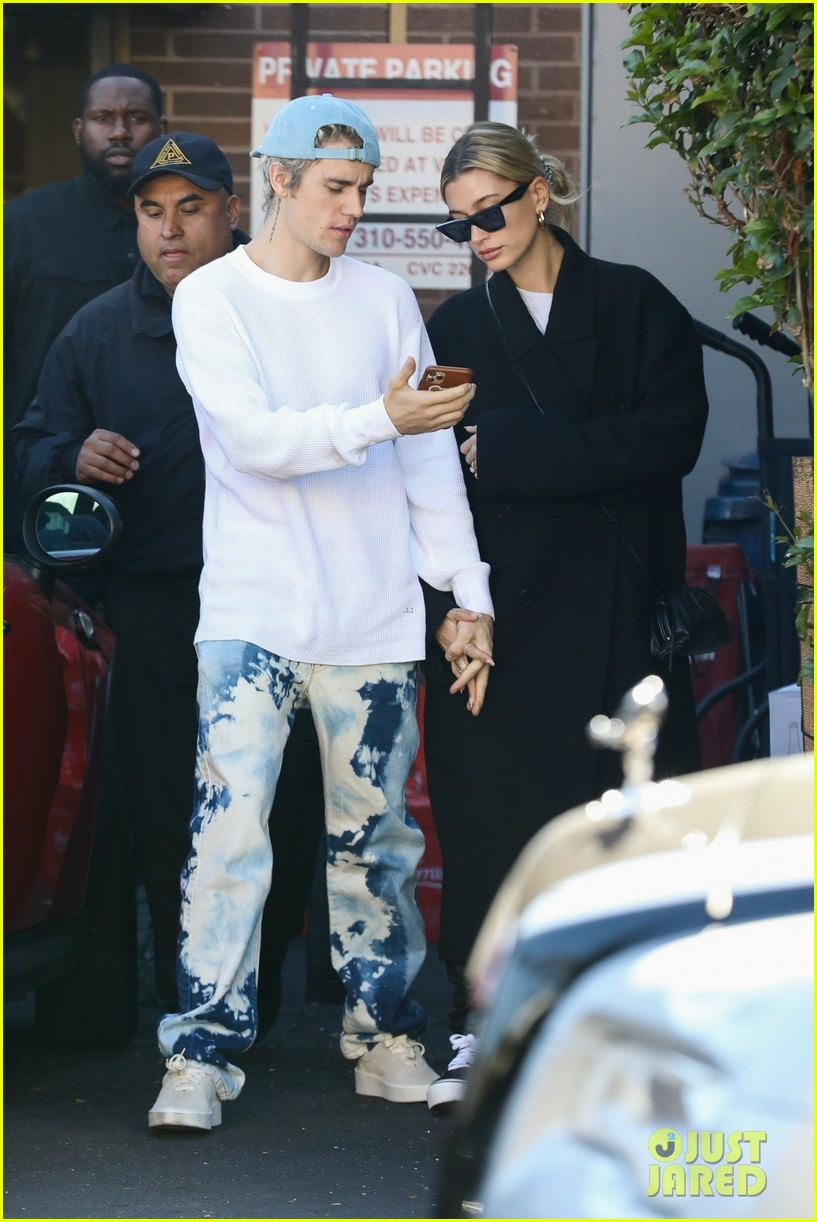 justin bieber clean shaven quality time with hailey 06