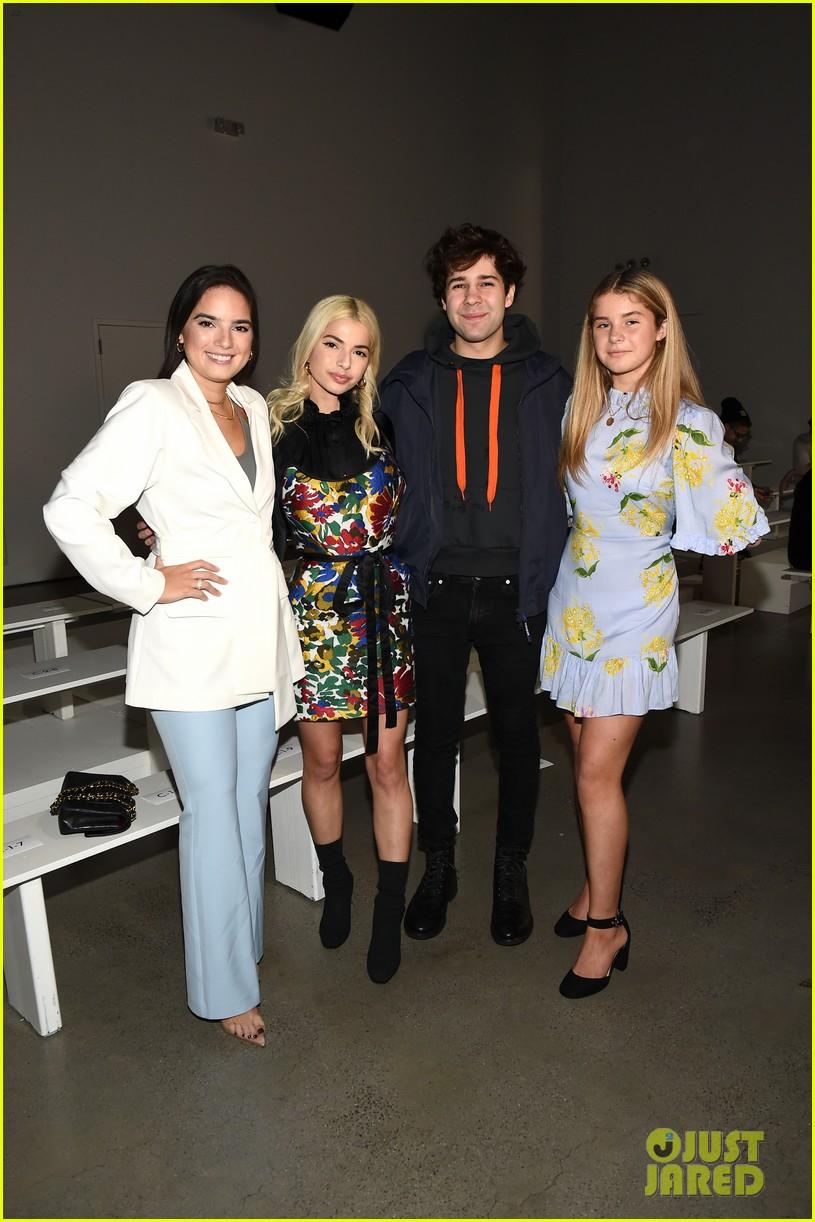 david dobrik rumored girlfriend natalie mariduena attend new york fashion week 01