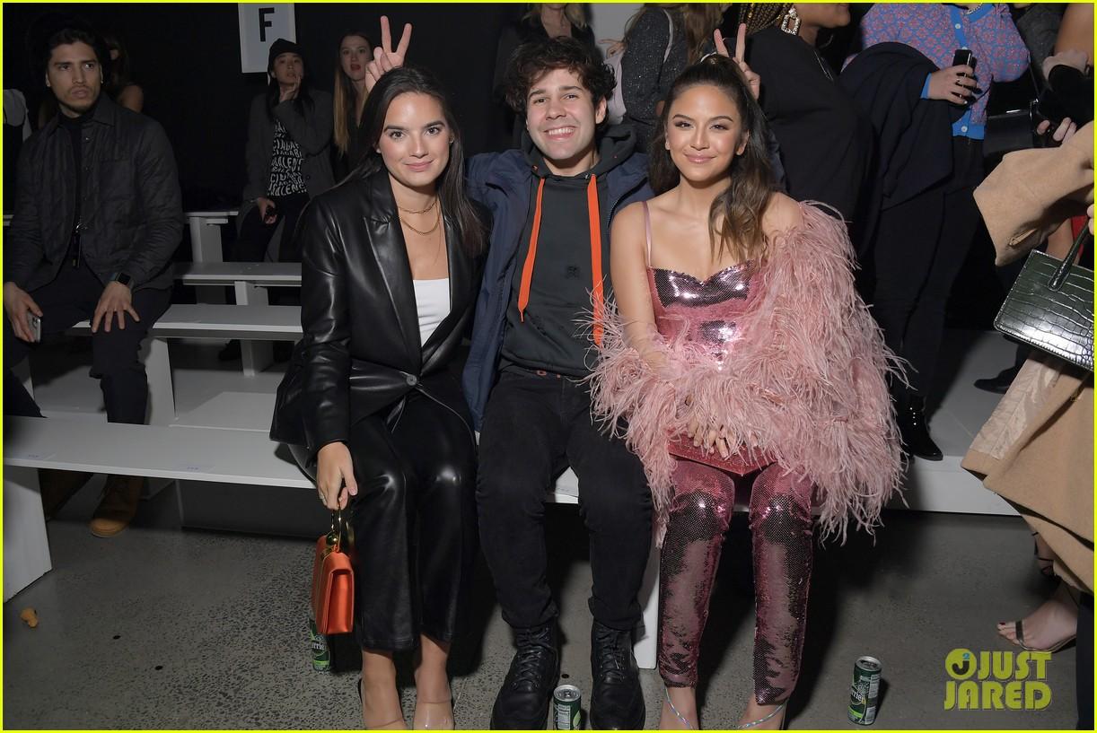 david dobrik rumored girlfriend natalie mariduena attend new york fashion week 05