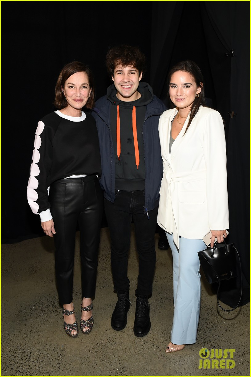 david dobrik rumored girlfriend natalie mariduena attend new york fashion week 06
