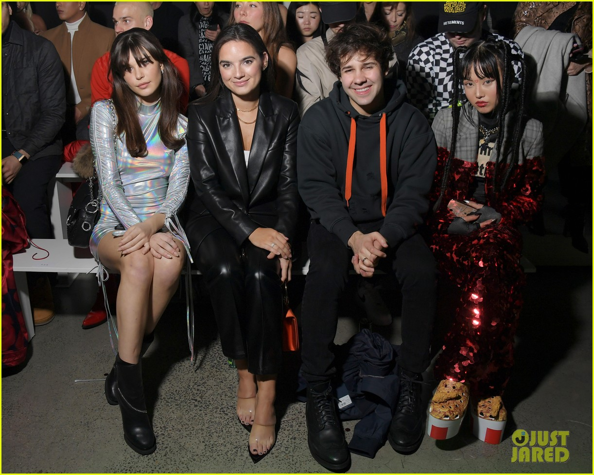 david dobrik rumored girlfriend natalie mariduena attend new york fashion week 07