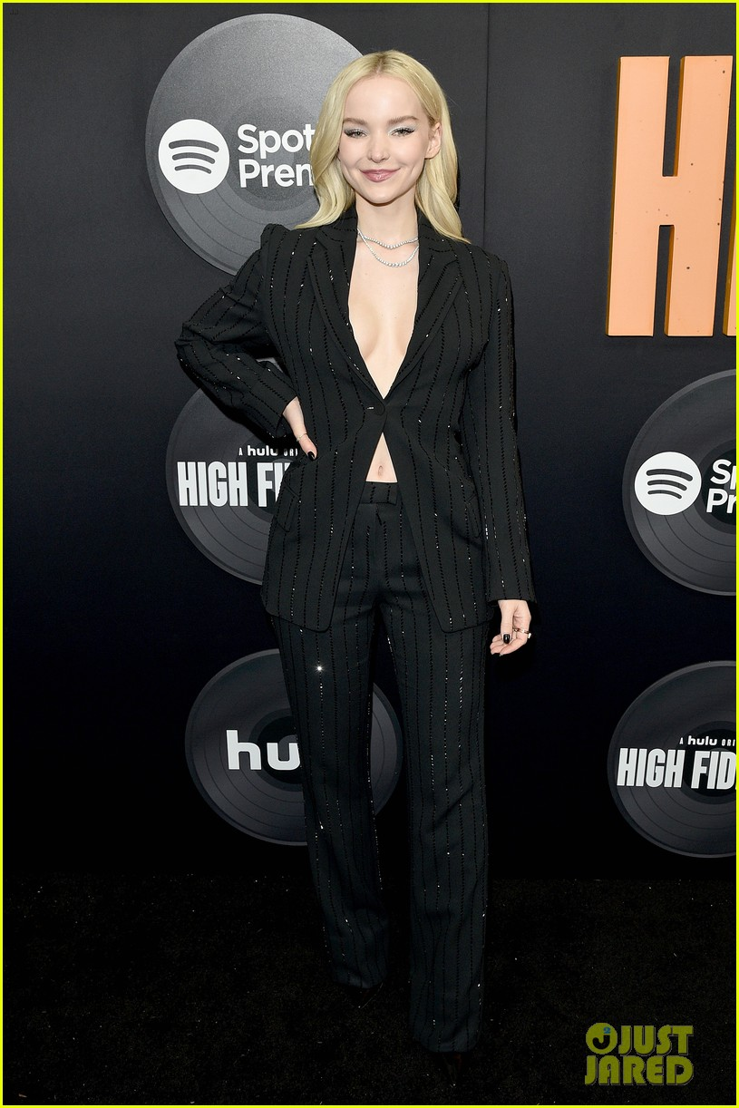 dove cameron thomas doherty high fidelity premiere 02