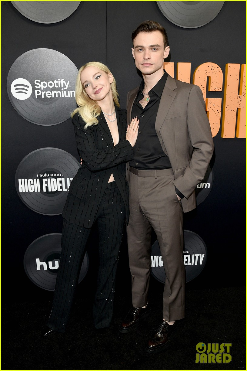 dove cameron thomas doherty high fidelity premiere 03
