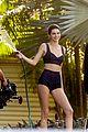 kendall jenner wears black bikini during photo shoot 08