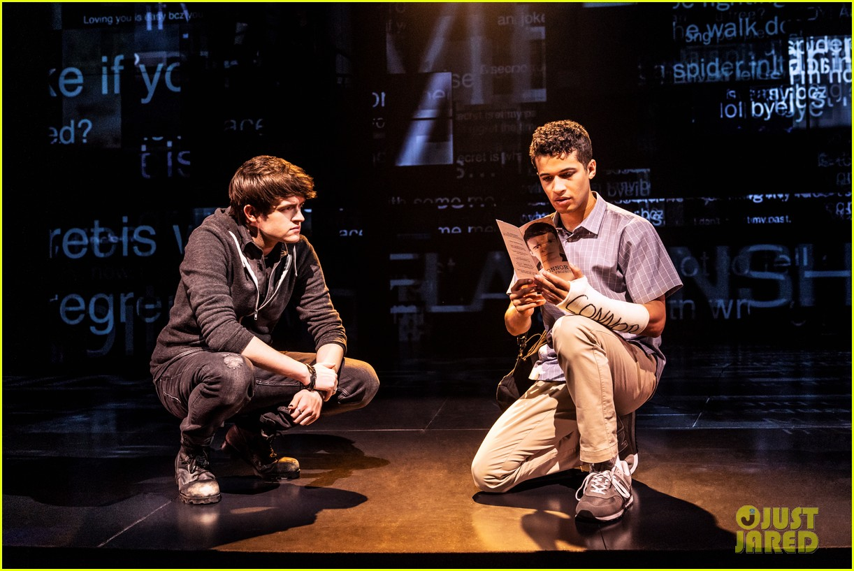 jordan fisher gabriella carrubba sing if i could tell her from dear evan hansen watch now 05