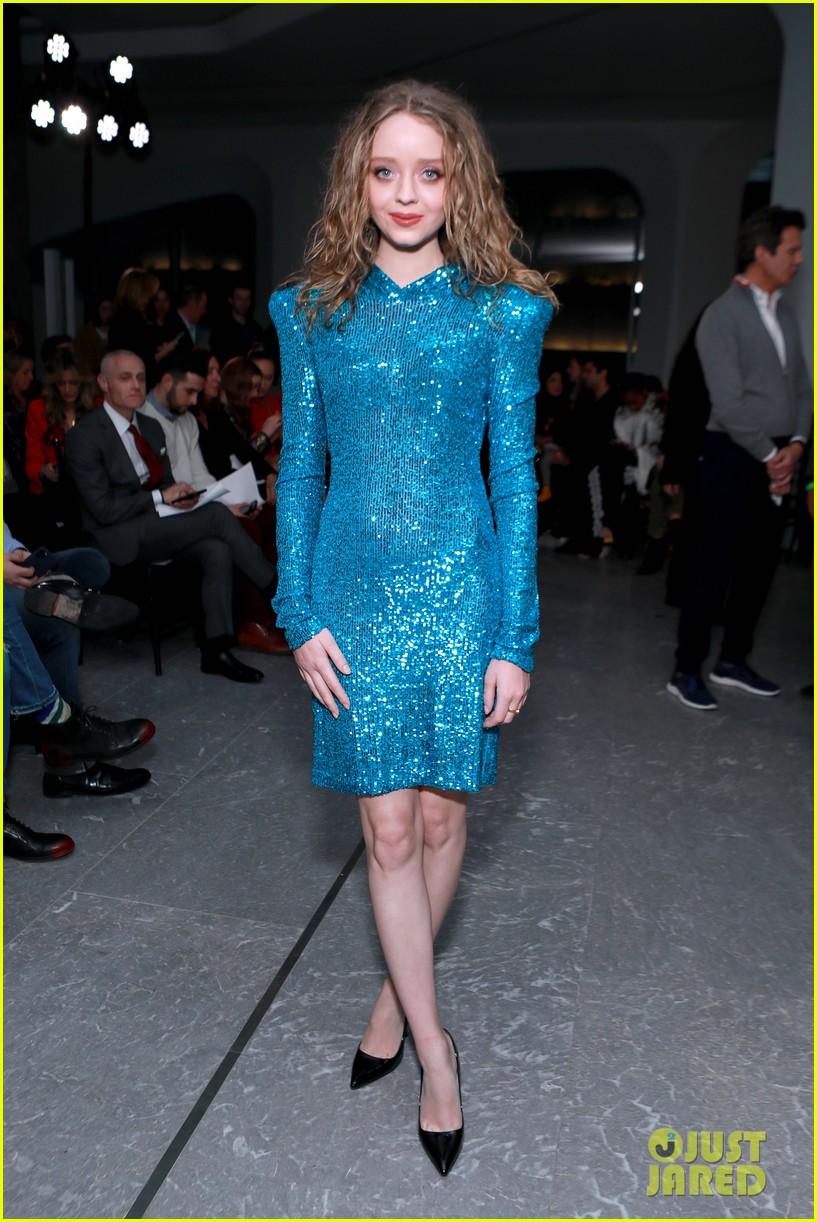 madeleine arthur hits up new york fashion week 03