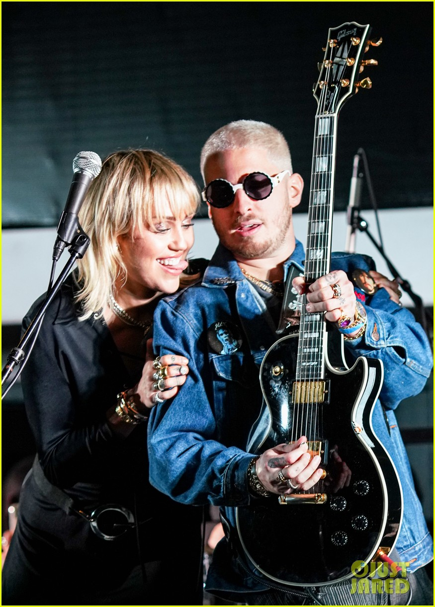 miley cyrus celebrates the doors album morrison hotel anniversary 02