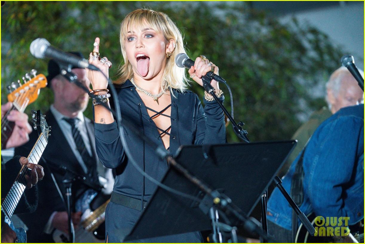 miley cyrus celebrates the doors album morrison hotel anniversary 22