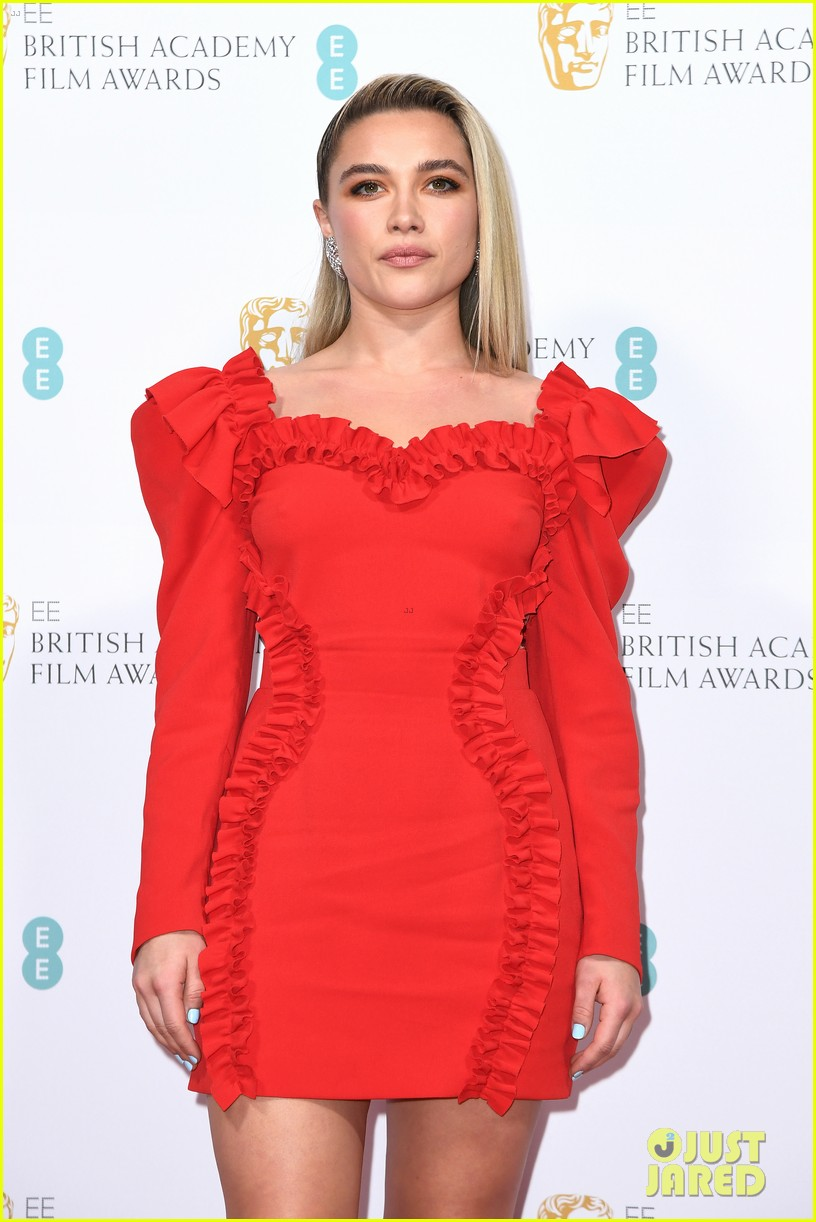 florence pugh saoirse ronan attend bafta nominees party 2020 09