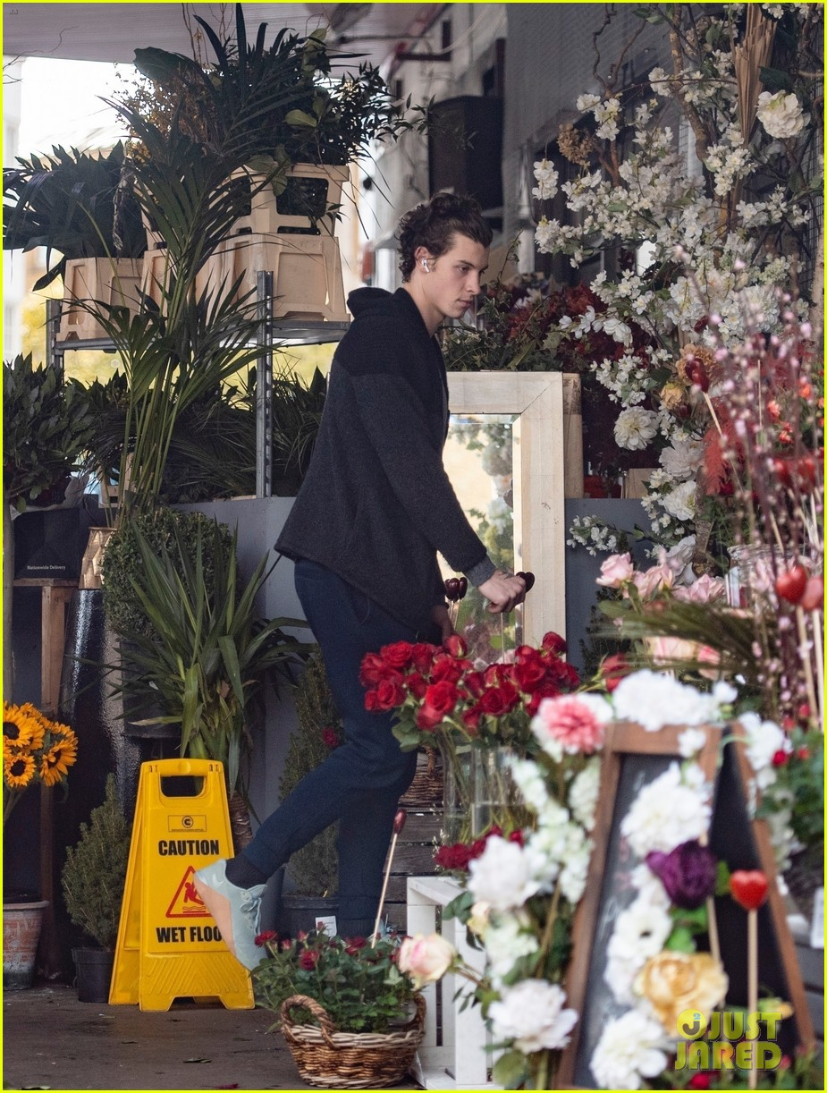 shawn mendes flowers february 2020 04